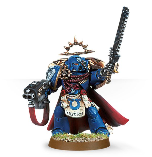 General Warhammer 40k Space Marines: Games Workshop Warhammer 40000 40K Space Marine Commander